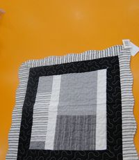 IVA COTTON JASTUCNICA 40x40 SQUARES GREY