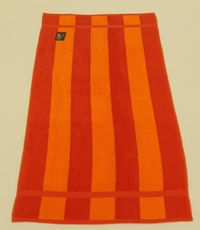 PLAZNI PESKIR Beach Master 70x150 - Stripe Orange
