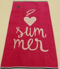 PLAZNI PESKIR Beach Master 86x170 - Love Summer
