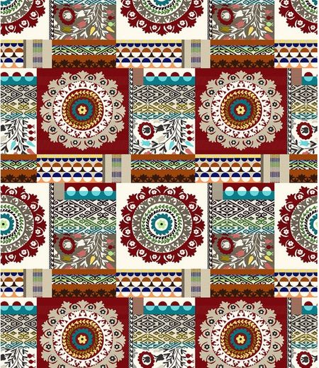 MEBL STOF PATCHWORK - Patchwork 53