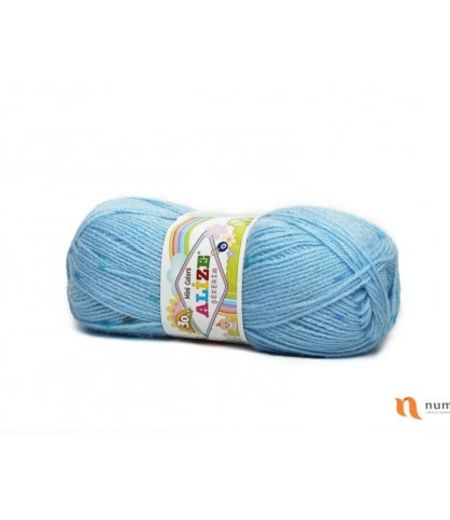SEKERIM MINI COLORS 4862 - Plava - 100g