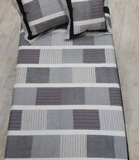 IVA COTTON 200/220-Squares grey