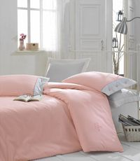 CB RANFORCE DOUBLE - Plain Line - PEMBE